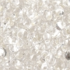 Bow Beads (Farfalle)-cut 2X4mm Crystal Silver Lined
